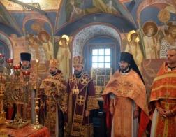В праздник Усекновения главы Иоанна Предтечи ректор Минской духовной академии сослужил митрополиту Волоколамскому Илариону