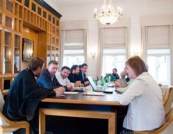 Ректор Минской духовной академии принял участие в заседаниях Ученого совета и Кандидатского диссертационного совета Общецерковной аспирантуры и докторантуры