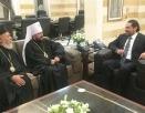 Состоялась встреча митрополита Волоколамского Илариона с Премьер-министром Ливана С. Харири