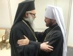 Состоялась встреча митрополита Волоколамского Илариона с Блаженнейшим Патриархом Антиохийским Иоанном