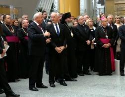 Председатель Издательского совета Белорусской Православной Церкви посетил международную выставку «Франциск Скорина и его эпоха»