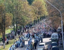 Торжества в честь Юровичской иконы Божией Матери прошли в Туровской епархии