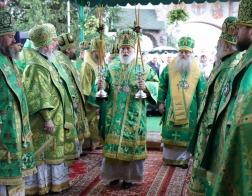 Патриарший Экзарх возглавил торжества в честь дня памяти преподобномученика Афанасия Брестского