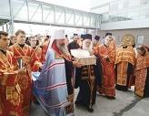 Из Греции в Екатеринбург принесены мощи великомученика Димитрия Солунского