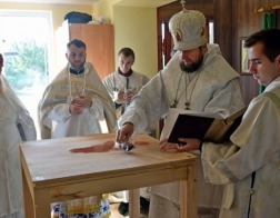 Храм в честь святых покровителей брака и семьи освящен в Лидской епархии