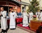 Митрополит Истринский Арсений совершил панихиду по сотрудникам МЧС, погибшим при тушении пожара в Москве 22 сентября 2016 года