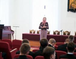 Состоялась презентация иконописного отделения при Минской духовной семинарии