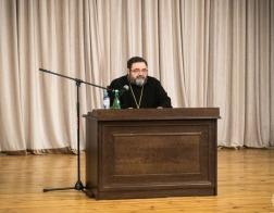 В Минской духовной академии прошла публичная лекция доктора богословия протоиерея Георгия Митрофанова