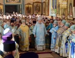Состоялся визит Патриаршего Экзарха в город Речицу