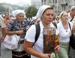 В Сумах местной епархии Украинской Православной Церкви впервые не разрешили провести крестный ход в праздник Покрова