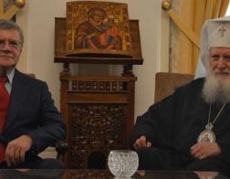 Патриарх Болгарский Неофит встретился с генеральным прокурором Российской Федерации Юрием Чайкой