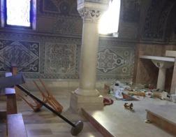 В Израиле еврейские экстремисты совершили нападение на католический храм