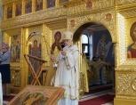В Международный день глухих епископ Орехово-Зуевский Пантелеимон совершил Литургию с сурдопереводом