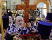 Предстоятель Русской Церкви совершил всенощное бдение в Казанском храме в Астрахани