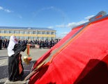 Святейший Патриарх Кирилл посетил Казачий кадетский корпус имени атамана И.А. Бирюкова