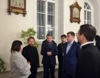 Председатель ОВЦС посетил англиканскую церковь святого Андрея и католический храм святого Людовика Французского в Москве