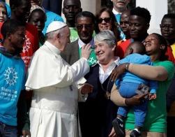 Папа Франциск официально открыл кампанию Caritas Internationalis под лозунгом «Присоединимся к пути»