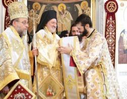 Состоялась хиротония нового архиерея для епархии Константинопольского Патриархата на острове Родос