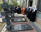 Святейший Патриарх Кирилл посетил Боткинское кладбище в Ташкенте