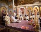 В Неделю по Воздвижении Блаженнейший митрополит Онуфрий совершил Божественную литургию в Киево-Печерской лавре
