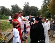 Архиепископ Артемий совершил чин освящения нижнего храма прихода Усекновения главы Иоанна Предтечи города Гродно