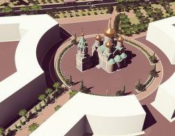 В республике Сербской началось строительство сербско-русского храма