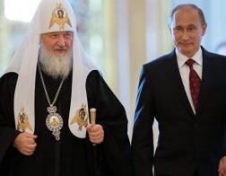 Патриарх Кирилл поздравил Владимира Путина с 65-летием