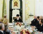 Предстоятель Русской Церкви провел заседание Бюро президиума Всемирного русского народного собора