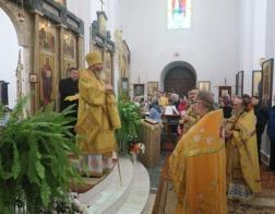 Храму преподобной Евфросинии Полоцкой в Ивенце — 10 лет