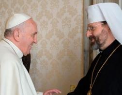 Глава украинских униатов пригласил Папу Римского Франциска посетить Украину