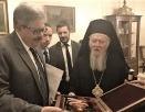 Святейший Патриарх Константинопольский Варфоломей впервые посетил Посольство Российской Федерации в Анкаре