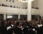 Московский Синодальный хор выступил в Духовно-культурном центре в Париже
