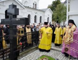 В Гомеле молитвенно почтили память архиепископа Аристарха (Станкевича)