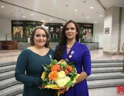 Супруга минского священника награждена орденом Матери