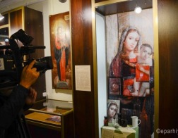 Хроника реставрации уникальной иконы XVII века представлена на выставке в Гомеле