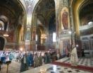 В Патриаршем войсковом всеказачьем соборе Новочеркасска торжественно отметили праздник Покрова Пресвятой Богородицы