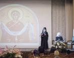 В Московской духовной академии состоялся торжественный акт по случаю престольного праздника Покровского академического храма