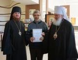 В Горно-Алтайске прошла выставка «Радость Слова», организованная Издательским Советом Русской Православной Церкви