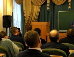 Заведующий кафедрой апологетики Минской духовной академии выступил с лекциями в Санкт-Петербурге