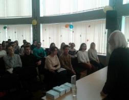 Поэтический вечер протоиерея Андрея Логвинова прошел в  Белорусском государственном медицинском университете