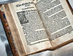 В соборе св. Павла в Лондоне выставили «самую опасную книгу эпохи Тюдоров»