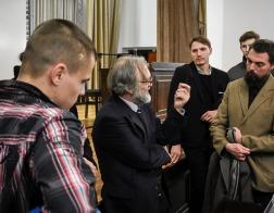 В Минской духовной академии прошла лекция профессора космологии Портсмутского университета