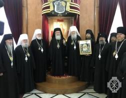 Митрополит Павел принимает участие в праздновании 170-летия Русской духовной миссии в Иерусалиме