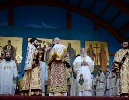 Святейший Патриарх Кирилл принял участие в торжественном богослужении в Бухаресте, посвященном памяти мучеников, пострадавших в годы гонений