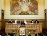 Святейший Патриарх Кирилл принял участие в торжественном заседании Священного Синода Румынской Православной Церкви