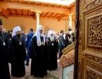 Святейший Патриарх Кирилл помолился у гробницы пророка Даниила в Самарканде