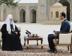 Святейший Патриарх Кирилл дал интервью телеканалу «Узбекистон»