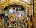 В день памяти преподобного Сергия Радонежского Предстоятель Русской Церкви совершил Литургию в Успенском соборе Троице-Сергиевой лавры