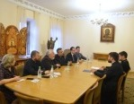 Отдел внешних церковных связей посетили представители протестантских организаций