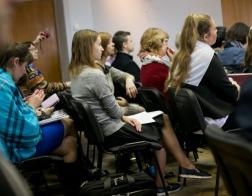 Институт теологии БГУ провел студенческую конференцию «Христианские ценности в культуре современной молодежи»